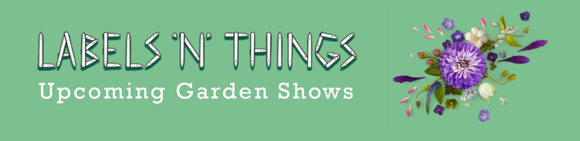 Garden Show Dates 2021
